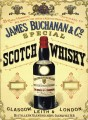 Reklama metalowa 30x40cm - James Buchanan & Co. Scotch